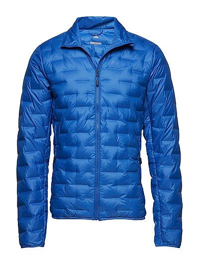 Light Down Jkt Outerwear Sport Jackets Blau ADIDAS PERFORMANCE