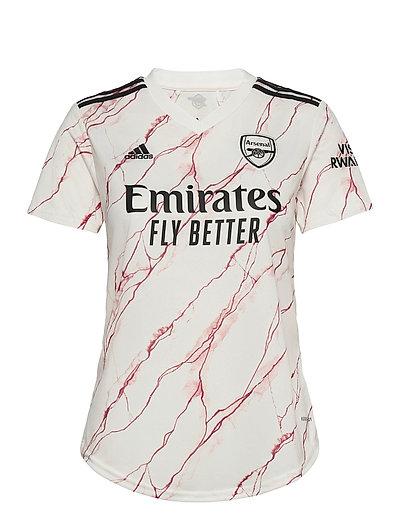 Arsenal Women'S Away Jersey T-Shirts & Tops Football Shirts Weiß ADIDAS PERFORMANCE