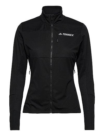 Agr Xc J W Outerwear Sport Jackets Schwarz ADIDAS PERFORMANCE