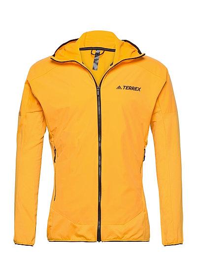 Skyclimb Fl J Sweat-shirts & Hoodies Fleeces & Midlayers Gelb ADIDAS PERFORMANCE