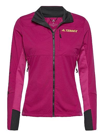 Agr Xc J W Outerwear Sport Jackets Pink ADIDAS PERFORMANCE