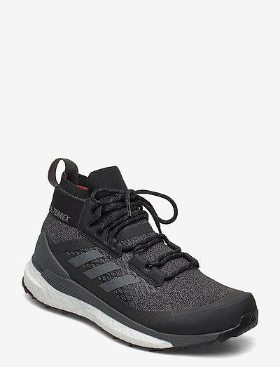 Terrex Free Hiker Hiking - chaussures de randonnée - cblack/gresix/actora