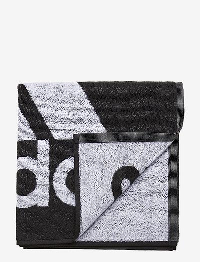 Towel Small - badtillbehör - 000/black