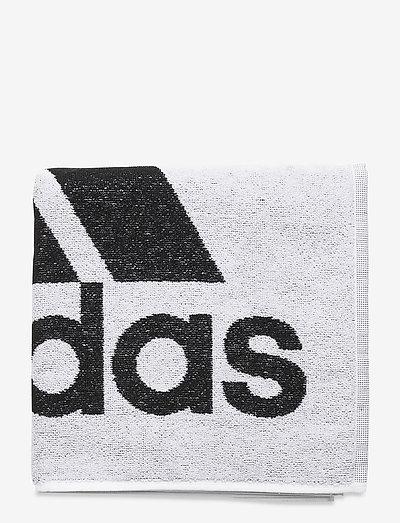 Towel Small - badtillbehör - white/black