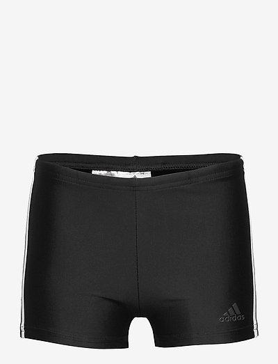 3-Stripes Swim Boxers - bademode - black/white