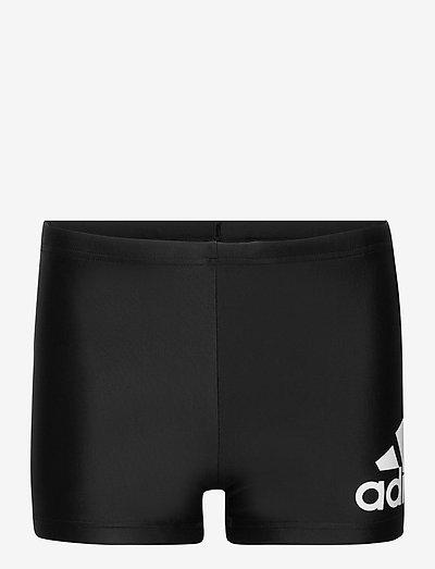 Badge Swim Fitness Boxers - badbyxor - black/white