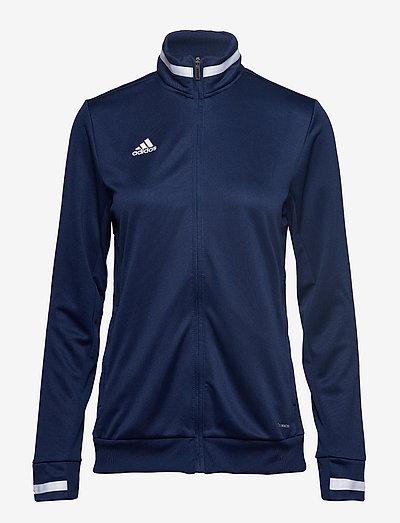 Team 19 Track Jacket W - sweatshirts - navblu/white
