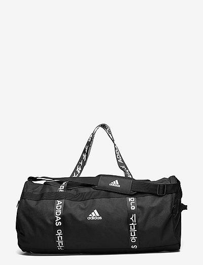 4ATHLTS Duffel Bag Large - nyheter - black/black/white