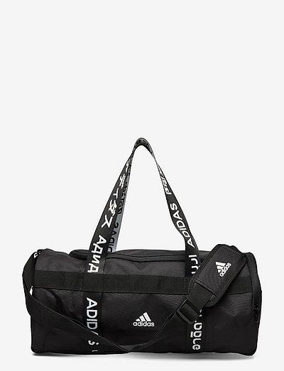 4ATHLTS Duffel Bag Small - nyheter - black/black/white