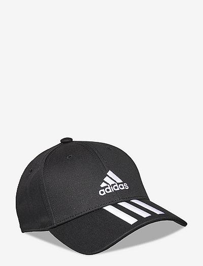 Baseball 3-Stripes Twill Cap - kepsar - black/white/white
