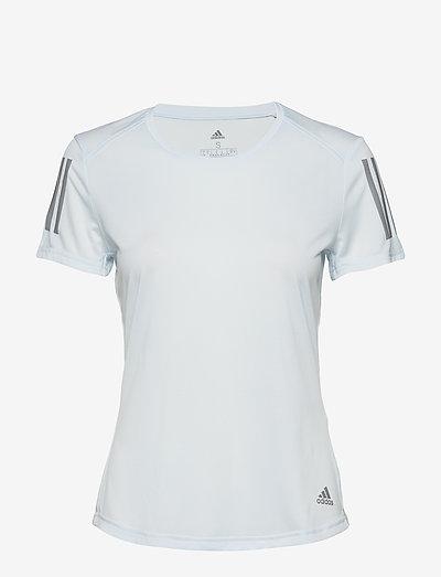 Adidas Performance Own The Run Tee- T-shirts & Tops Skytin