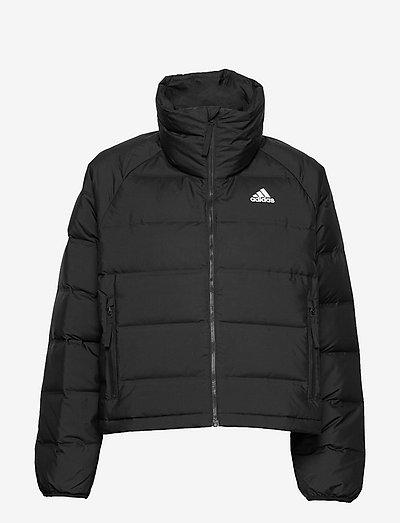 Helionic Relaxed Fit Down Jacket W - træningsjakker - black