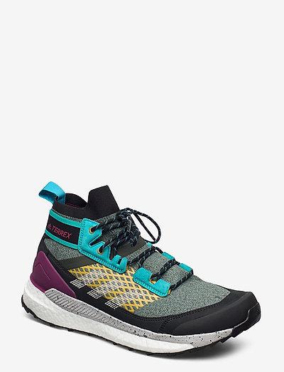 Terrex Free Hiker Blue Hiking - chaussures de randonnée - legear/gretwo/sigcya