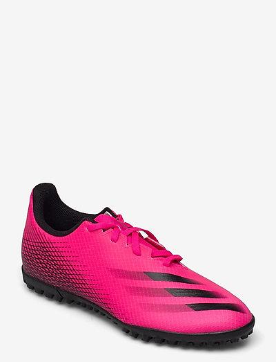 X Ghosted.4 Turf Boots - fotbollsskor - shopnk/cblack/cblack