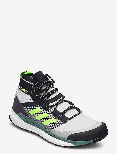 Terrex Free Hiker Hiking - chaussures de randonnée - gretwo/cblack/siggnr
