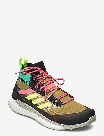 TERREX FREE HIKER PRIMEBLUE - chaussures de randonnée - wilmos/cblack/acimin