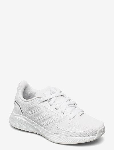 Runfalcon 2.0 - running shoes - ftwwht/ftwwht/grethr