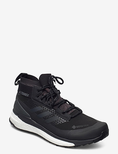 TERREX FREE HIKER GTX - chaussures de randonnée - cblack/grethr/actora