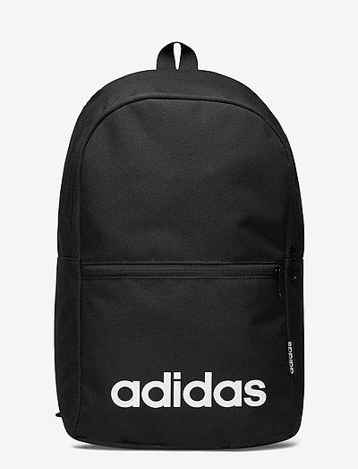 Linear Classic Daily Backpack - sportstasker - black/black/white
