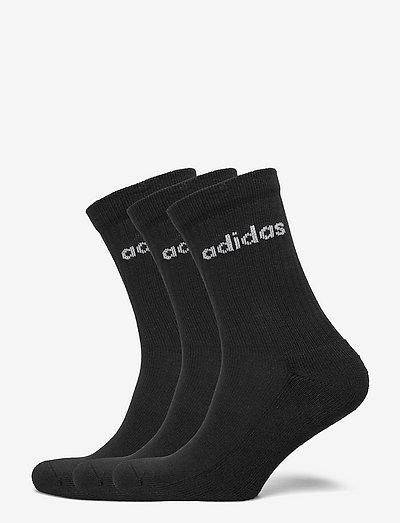 Half-Cushioned Crew Socks 3 Pairs - almindelige strømper - black/white
