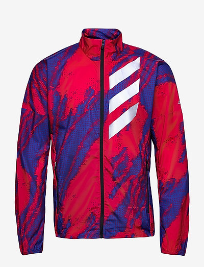 Terrex Parley Agravic Trail Wind.RDY Windbreaker - vestes d'entraînement - scarle