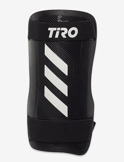 Tiro Training Shin Guards - fotbollsutrustning - white/black/black