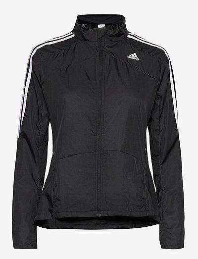 Marathon 3-Stripes Jacket W - sportsjakker - black