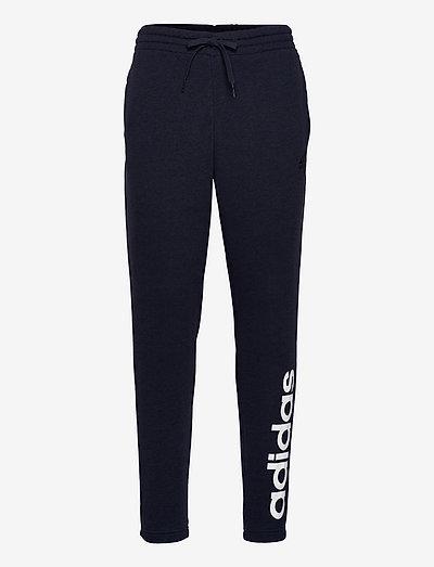 Essentials French Terry Tapered Elastic Cuff Logo Pants - sweatpants - legink