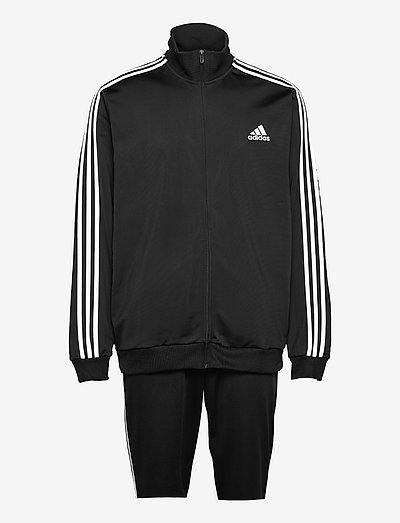 Primegreen Essentials 3-Stripes Track Suit - tracksuits - black/white