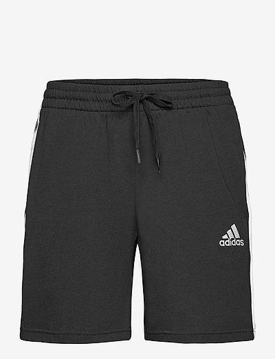 AEROREADY Essentials 3-Stripes Shorts - casual shorts - black/white