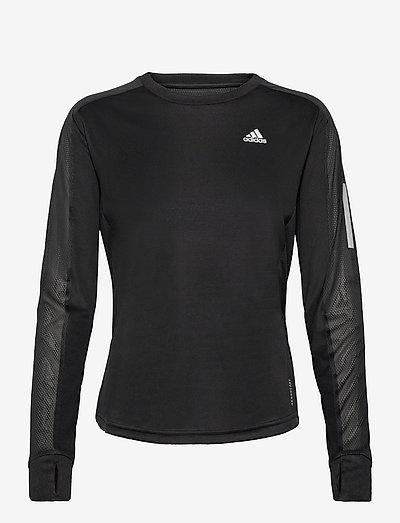 Own the Run Long Sleeve Tee W - langærmede toppe - black