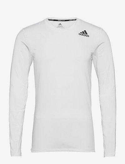 Techfit Compression Long Sleeve Tee - långärmade tröjor - white