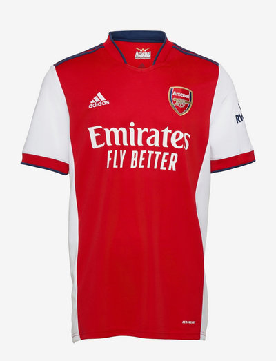 Arsenal 21/22 Home Jersey - fotbollströjor - white/scarle