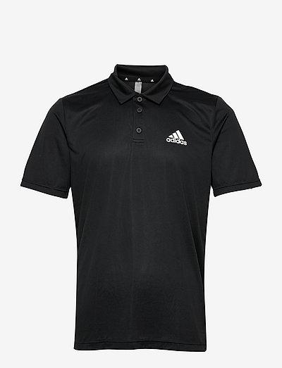AEROREADY Designed To Move Polo Shirt - t-shirts - black