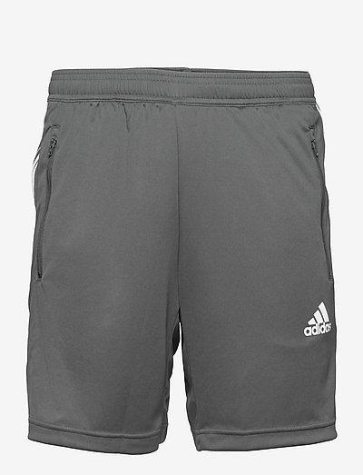Primeblue Designed To Move Sport 3-Stripes Shorts - träningsshorts - gresix/white