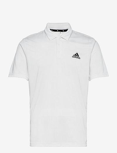 AEROREADY Designed To Move Polo Shirt - t-shirts - white