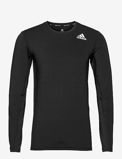 Techfit Compression Long Sleeve Tee - långärmade tröjor - black
