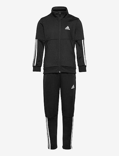 3-Stripes Team Track Suit - trainingsanzüge & 2-teilige sets - black/white