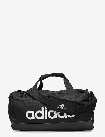 Essentials Logo Duffel Bag Extra Small - gymtassen - black/white