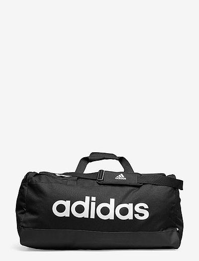 Essentials Logo Duffel Bag Large - træningstasker - black/white