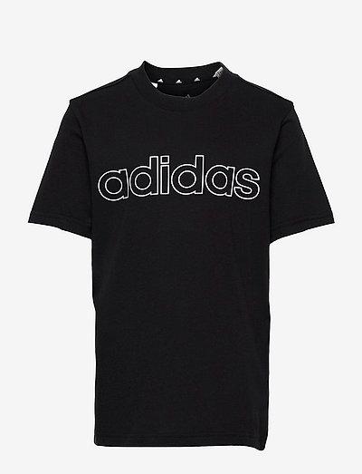 Essentials Tee - kortärmade t-shirts - black/white