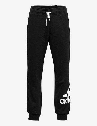 Essentials French Terry Pants - sporthosen - black/white