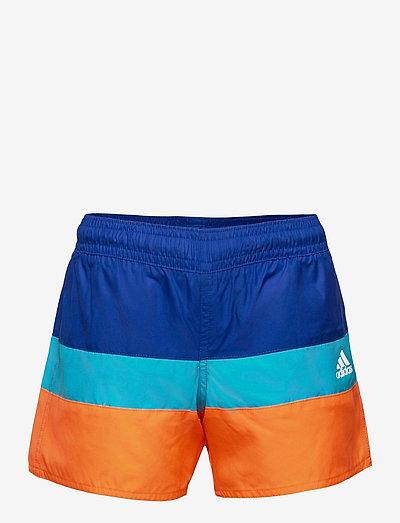 Colorblock Swim Shorts - bademode - royblu/scrora