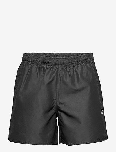 Solid Swim Shorts - badbyxor - black