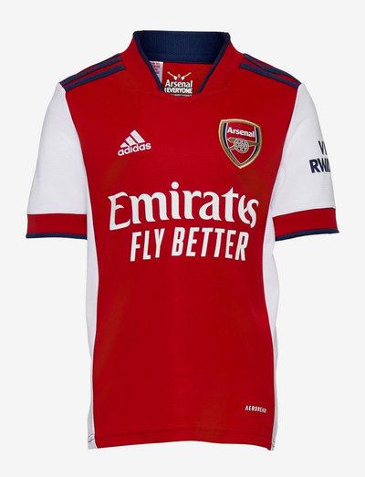 Arsenal 21/22 Home Jersey - fodboldtrøjer - white/scarle