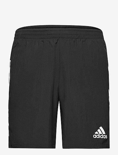 Own The Run 3-Stripes Shorts - träningsshorts - black