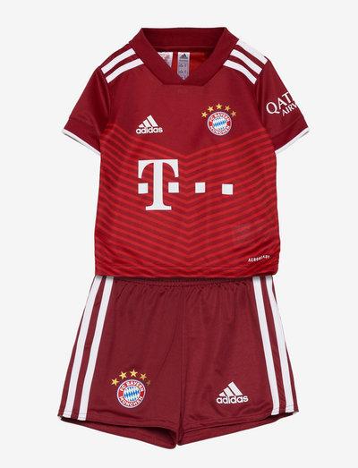 FC Bayern 21/22 Home Mini Kit - fodboldtrøjer - fcbtru