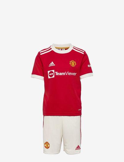 Manchester United 21/22 Home Mini Kit - fodboldtrøjer - reared