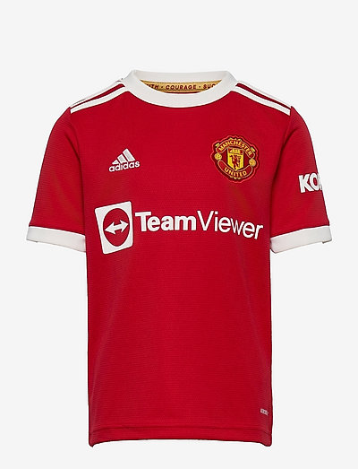 Manchester United 21/22 Home Jersey - fodboldtrøjer - reared