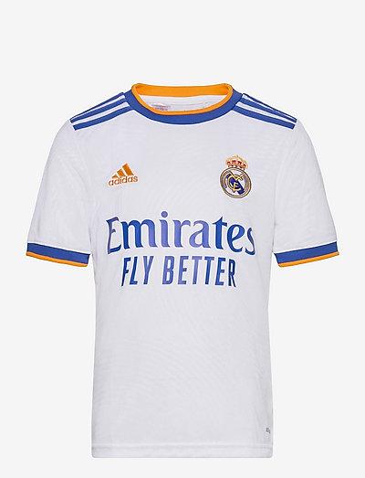 Real Madrid 21/22 Home Jersey - fodboldtrøjer - white